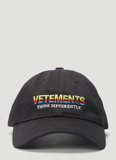 Vetements Think Differently Baseball Cap