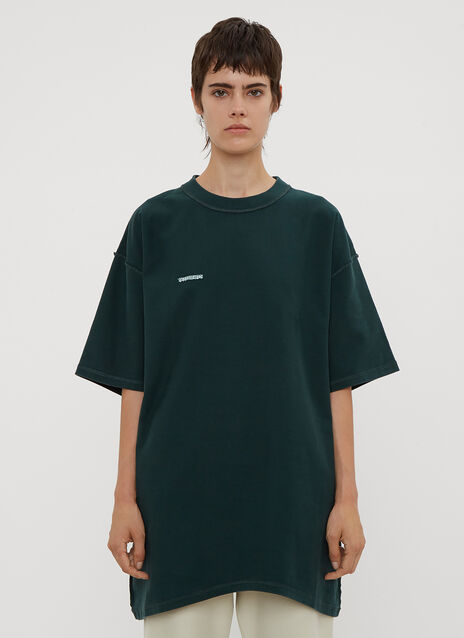 Vetements Oversized Inside-Out T-Shirt