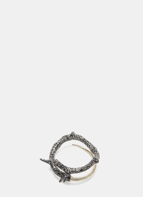 Thorn Two-Tone Wrap Ring