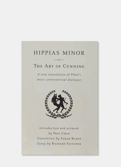 Books Hippias Minor or The Art Of Cunning: A New Translation by Plato