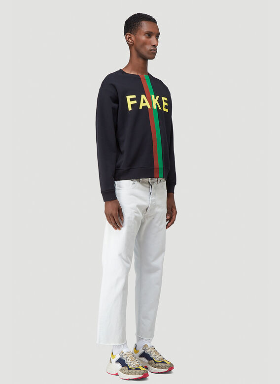 Gucci NOT FAKE SWEATSHIRT 2