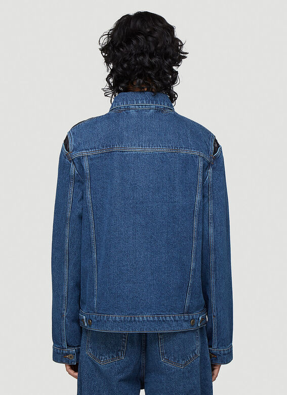 Y/Project CLASSIC PEEP SHOW DENIM JACKET 4