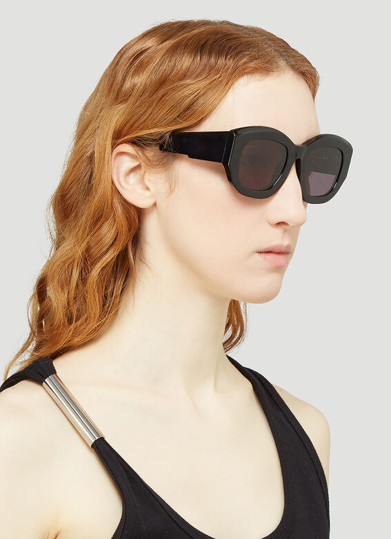 Kuboraum Mask B5 Oversized Acetate Sunglasses 2