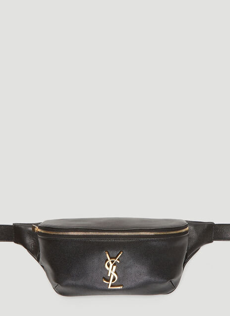 Saint Laurent Logo Monogram Belt Bag