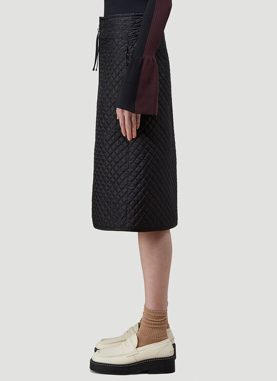 2 Moncler 1952 Quilted Skirt 3
