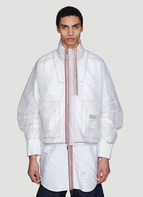 Thom Browne Transparent Articulated Jacket