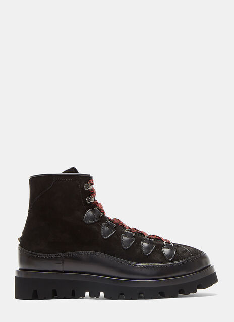 Suede Lace-Up Mountain Boots