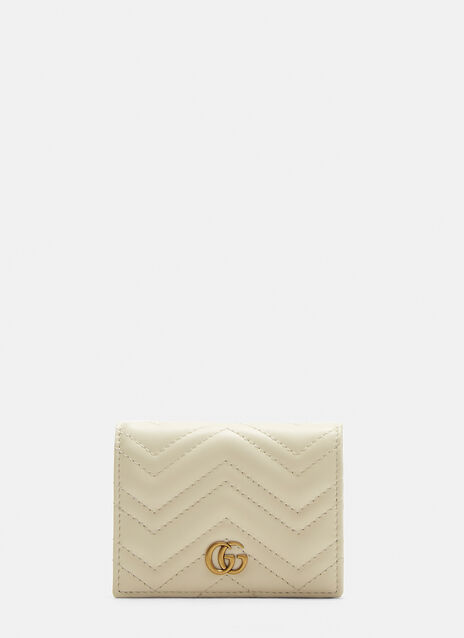 Gucci Small Marmont Snap Stud Wallet