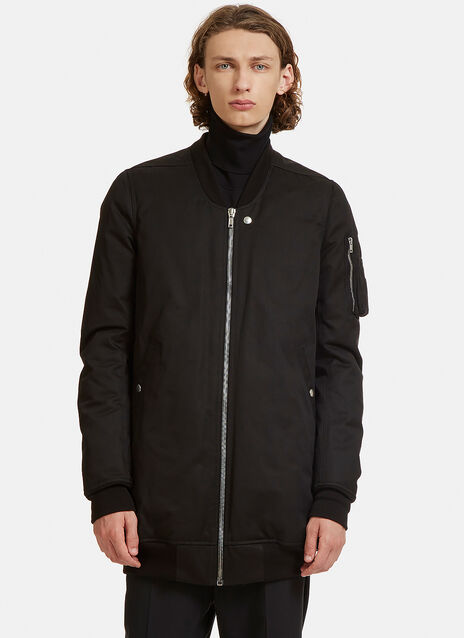 Rick Owens Faun Oversized Flight Bomber Jacket