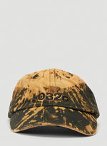 032C Cap Bleached with Logo EMB