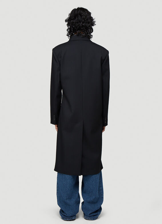 Y/Project Classic Twisted Lapel Coat 4