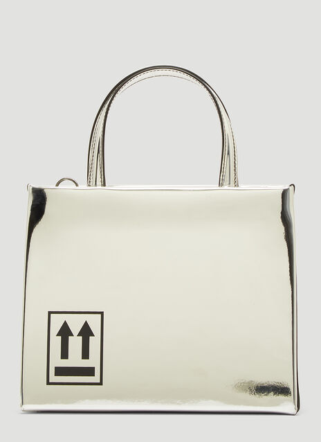 Off-White Mirror Box Shoulder Bag