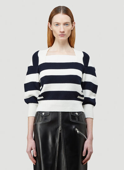 Alexander McQueen Striped Sweater