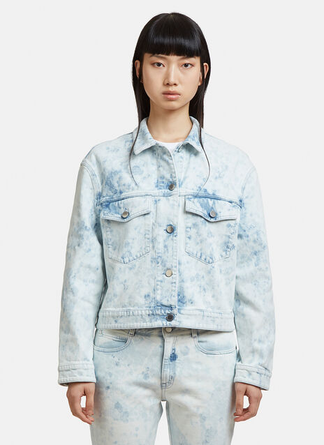 Stella McCartney Bleached Denim Jacket