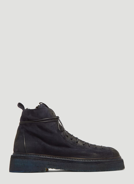 Marsèll Parruccona Shearling Lined Monkey Boots