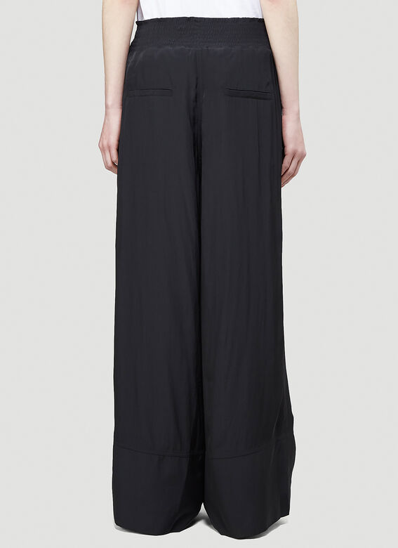JW Anderson ELASTICATED WAIST WIDE LEG TROUSERS 4