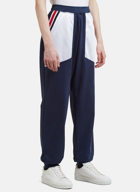 Facetasm Ribbed Football Track Pants