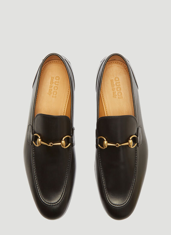 Gucci Jordaan Leather Loafers 2