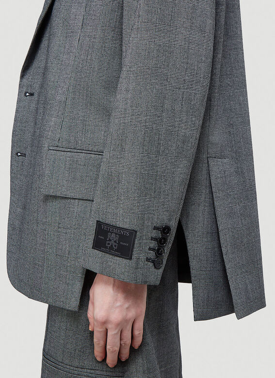 Vetements CUT-OUT TAILORED JACKET 5