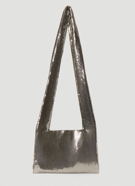 Kara Metal Mesh Crossbody Bag 1