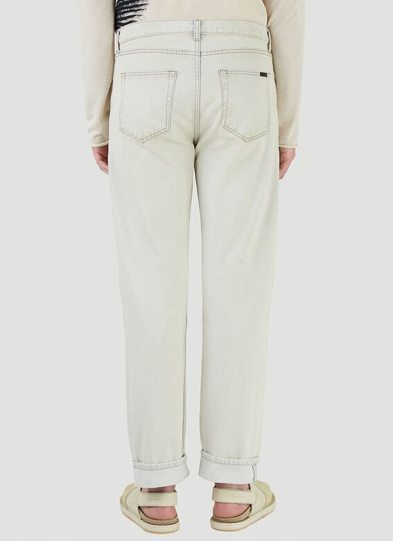 Saint Laurent RELAXED STRAIGHT JEA 4