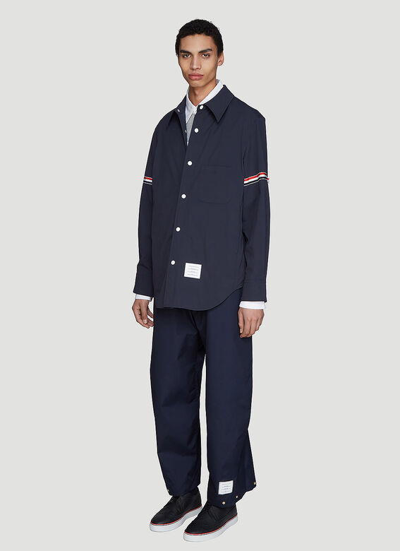 Thom Browne Snap Front Over-Shirt Jacket 2