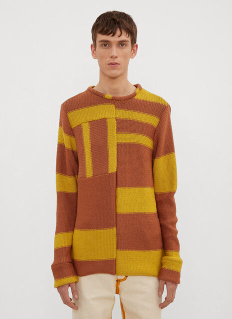 Eckhaus Latta Anxiety Relief Knit Sweater