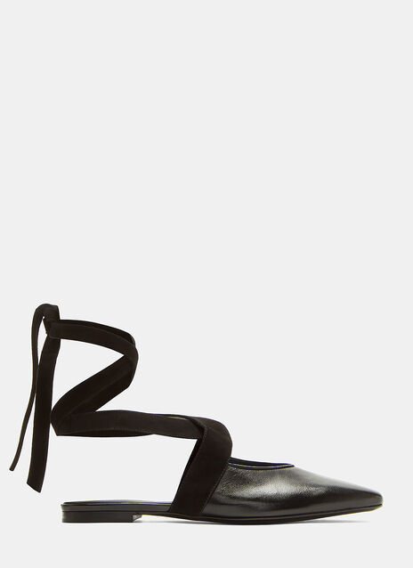 JW Anderson Open Flat Ballerina Shoes