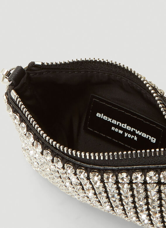 Alexander Wang Wangloc Rhinestone Mini Shoulder Bag 6