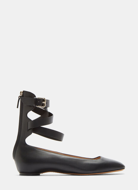 Ankle Strap Ballerina Shoes