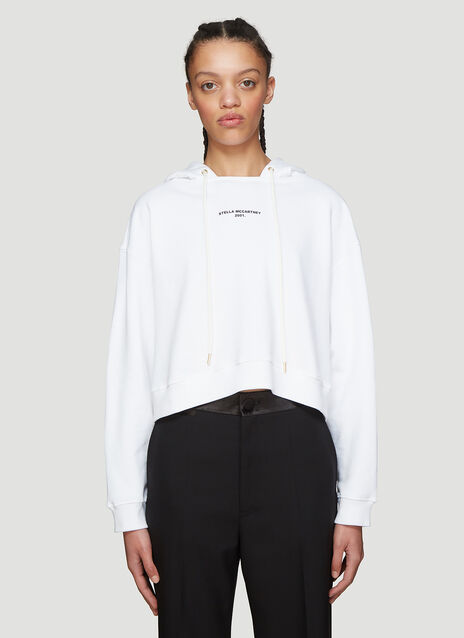 Stella McCartney Hooded Cropped Sweater