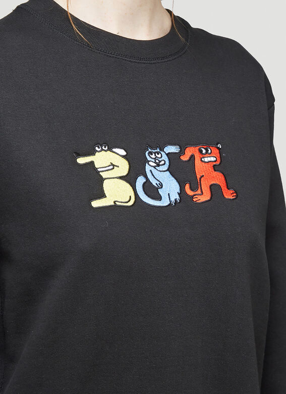 Butter Sessions RITTLE KING EMBROIDERED CREWNECK 5