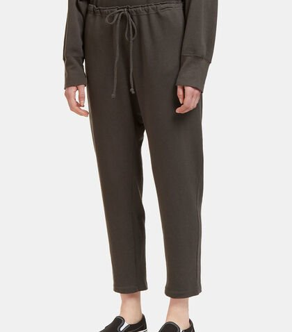 Arch Dropped Crotch Track Pants