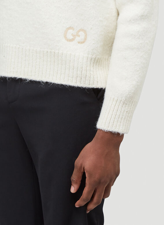 Gucci KNIT WITH RED GREEN NAVY STRIPE 5