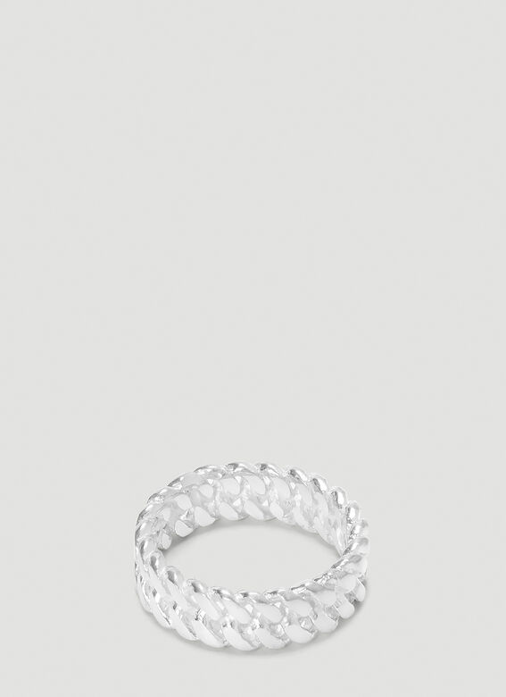 Pearls Before Swine XS CHROME LINK RING 2
