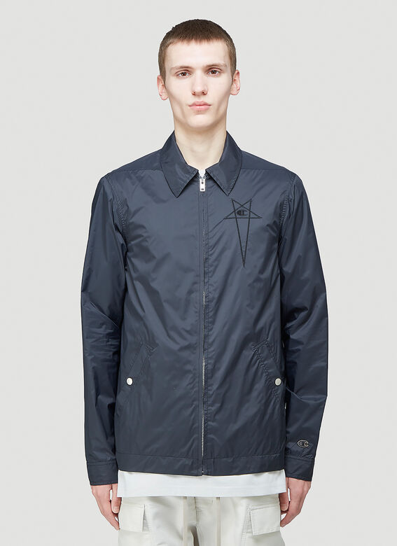 Rick Owens X Champion WORKER WINDBREAKER 1