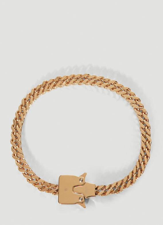 1017 ALYX 9SM CUBIX CHAIN NECKLACE W/ FIXED BUCKLE 1
