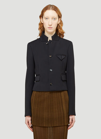 보테가 베네타 Bottega Veneta Tailored Jacket in Black