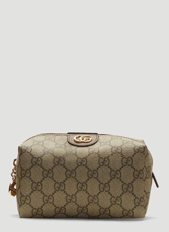 2583cb92a89232 Gucci Ophidia GG Cosmetic Case in Brown | LN-CC