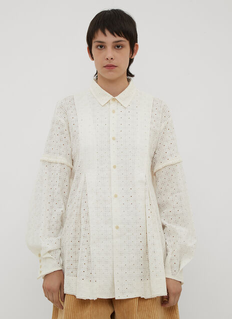 Renli Su Broderie Anglaise Shirt
