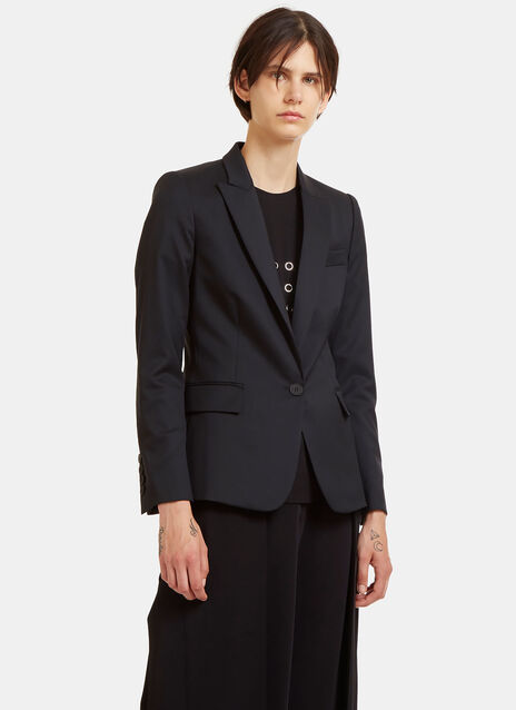 Stella Mccartney Single-Breasted Tuxedo Jacket