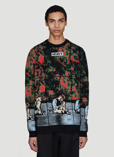 JW Anderson X Gilbert & George Crew Neck Sweater