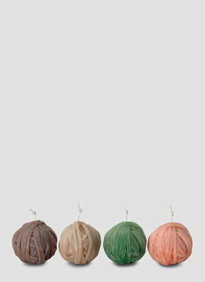 Missoni Home Four-Pack Gomitolo Candles