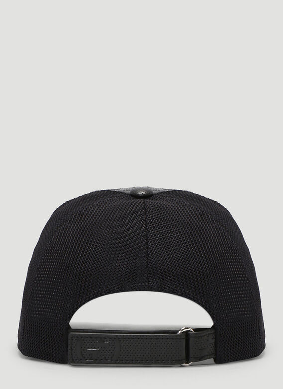 Gucci OVERSIZED EMBOSSED GG TENNIS TRUCKER CAP 4