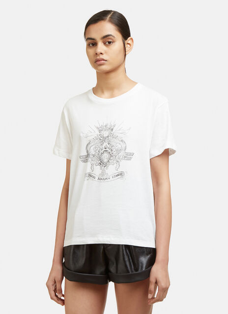 Saint Laurent Young Romance League T-Shirt