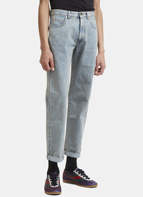Gucci Washed Denim Jeans