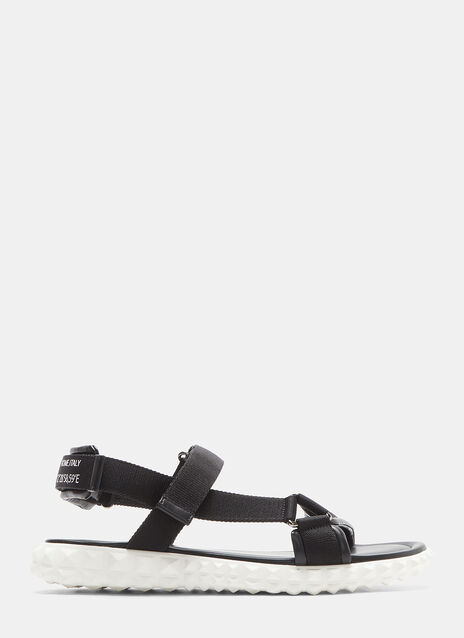 Valentino Coordinates Always Rockstud-Soled Sandals