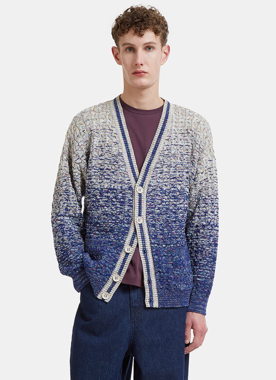 Missoni Ombre Cable Knit Cardigan