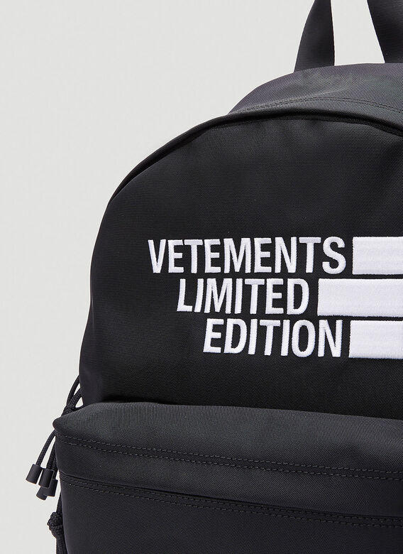 VETEMENTS Logo Limited Edition Backpack 4