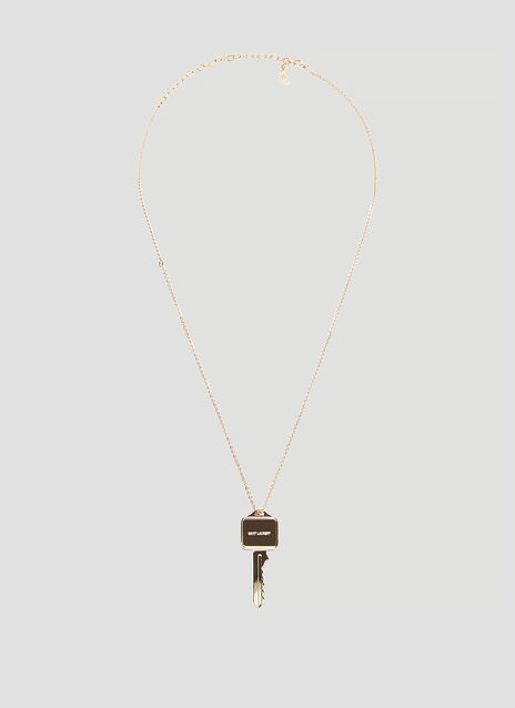 Saint Laurent Charms Pendant Necklace
